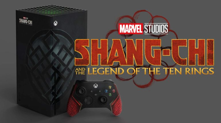 Кастомный Xbox Series X «Shang-Chi and The Legend of The Ten Rings»