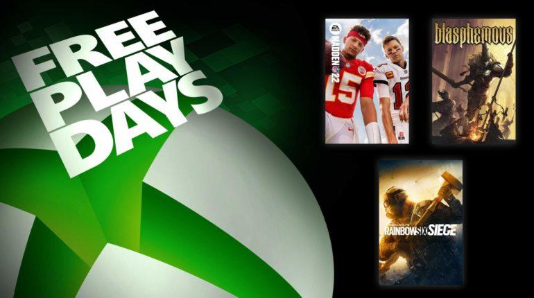 Free Play Days Сентябрь 2021