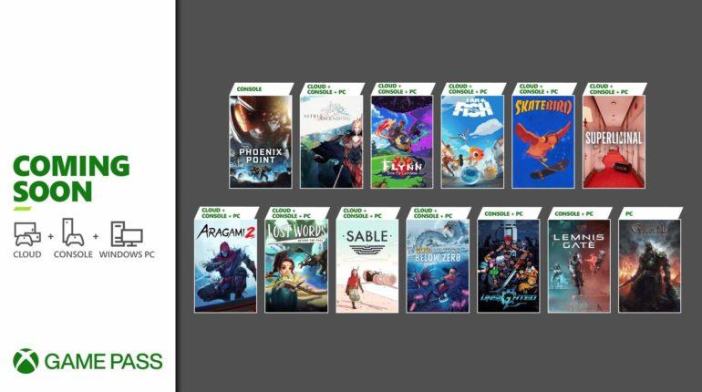Xbox Game Pass Сентябрь 2021 - 2
