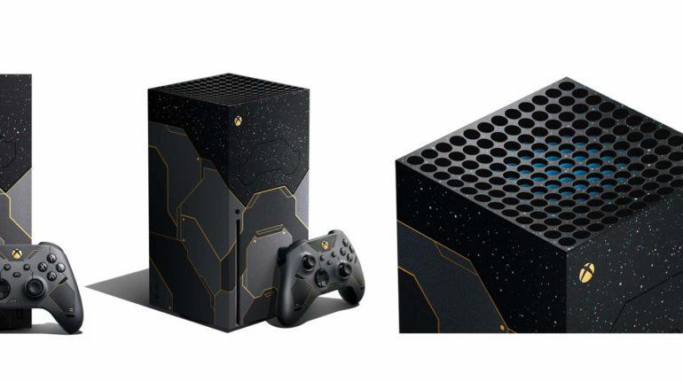 Уникальную консоль Xbox Series X и контроллер в стиле Halo Infinite можно будет предзаказать в эту пятницу